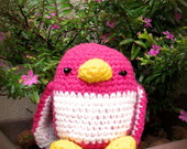 Amigurumi Pinguim Pink