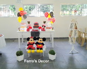 Decora��o Minnie e Mickey
