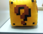 "Almofada Question Block "" cubo mario"""