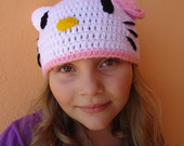 Touca Infantil Hello Kitty
