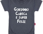Body Infantil Gordinho