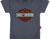 Body Infantil  Logo Harley