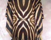Kaftan Curto Zebra