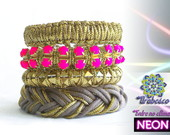 MIX NEON IN GOLD - PINK