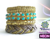 Mix Neon In Gold - Turquesa