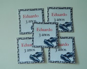 50 Tag Para Lembrancinha - Personalizada