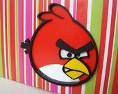 Caixa Lousa ANGRY BIRD