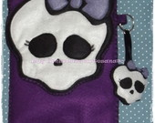 Case Monster High + Chaveiro Tablet 7&quot;