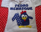 Camiseta galinha pintadinha