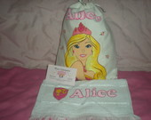 Kit Higi�nico Barbie Escola De Princesas