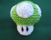1 Up Amigurumi - Mario Bros