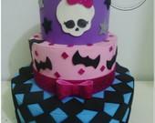 Bolo Falso Monster High