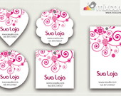 Kit Tags - Etiquetas com Design! mod08