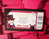 Convite Ingresso - Mgico