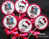Topper Para Cachep� - Monster High