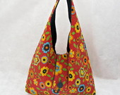 Bolsa Dupla Face Floral