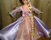 Roupa De Barbie - Rapunzel