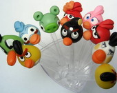 Colheres Decoradas Angry Birds