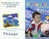 Revista para colorir O pequeno prncipe