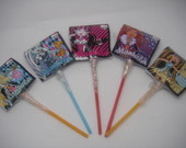 12 Pirulitos Chaves Monster High