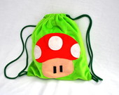 LEMBRANCINHAS MOCHILA COGUMELO MARIO G
