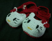 Sapatinho da hello kitty