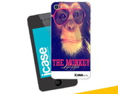 Case The Monkey para Iphone 4 e 4s