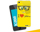 Case Bob Esponja para Iphone 4 e 4s