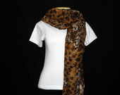 Echarpe em Animal Print