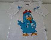 Camisa Galinha Pintadinha
