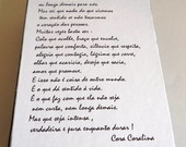 Caixa Frase Livro  P