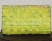 CLUTCH AMARELO FLOR