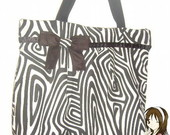 Bolsa Grande Zebra