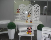 Kit Proven�al Mickey e Minnie Aluguel
