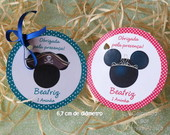Tag  Minnie Mickey 6,7 cm