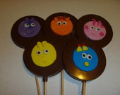 Pirulito De Chocolate backyardigans