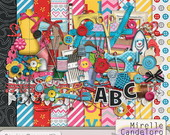 Digital Kit de Scrap Sewing Dreams