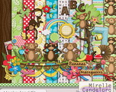 Digital Kit de Scrap Monkeyland