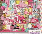 Digital Kit de Scrap Ready to Pop - Girl