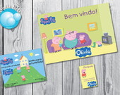Peppa Pig Kit Festa Digita LAN�AMENTO