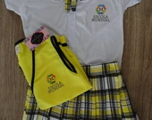 Carrossel Uniforme  Escola Mundial menin