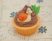 Sabonete Cupcake De Caqui com Chocolate