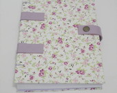 Caderno Floral lils