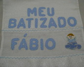 Toalha De Batizado