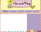 Template para Blog Scrap Purple 2011