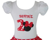 Blusinha Minnie Vermelha 1021