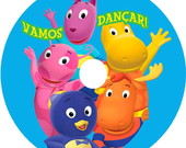 Cd Personalizado Backyardigans