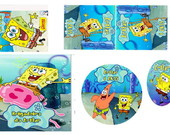Kit Festa Digital Bob Esponja