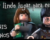 R�tulo De �gua Harry Potter Lego