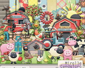 Digital Kit de Scrap Happy Farm